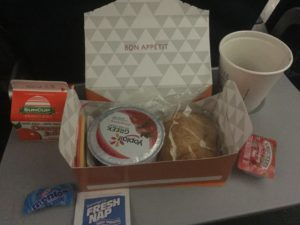 delta pdx_ams breakfast