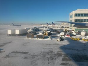 Snowy United Terminal at DIA