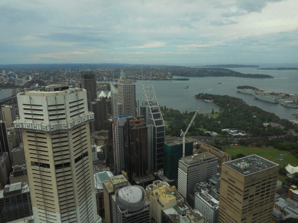 One Week Trip to Australia - Sydney Tower Eye