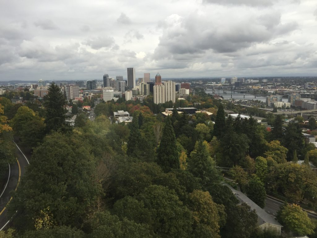 Hyatt House Portland Review - Downtown View