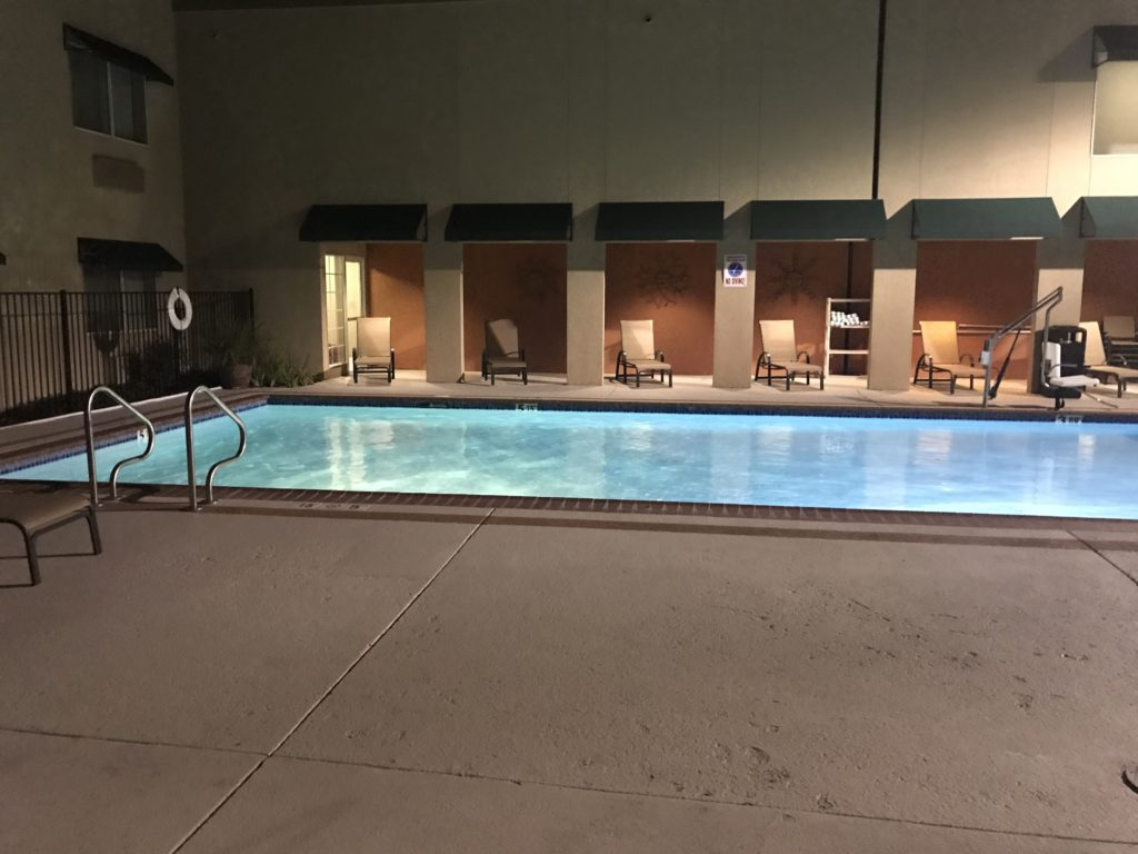 holiday inn auburn pool