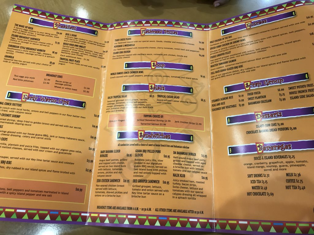 kafe kalik priority pass restaurant menu
